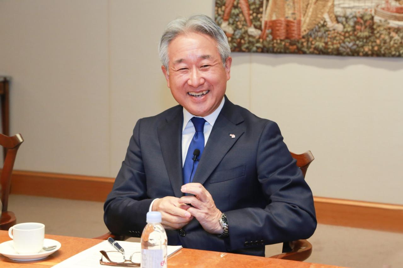 Takaaki Nishii, presidente global da Ajinomoto (Divulgação)