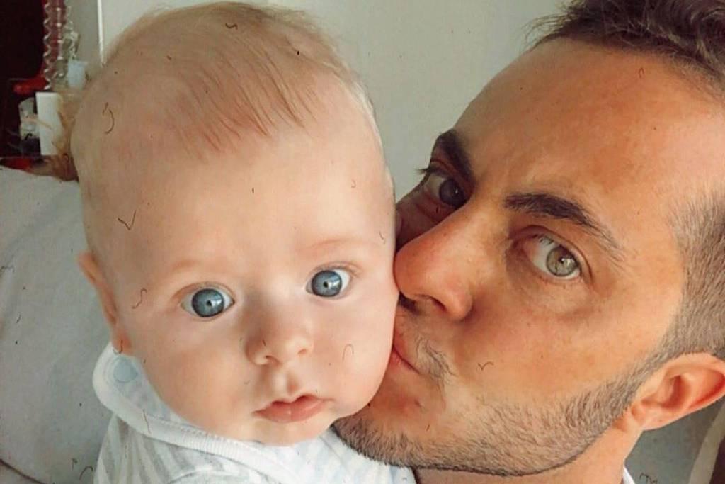 Thammy Miranda com o filho Bento Ferreira Miranda - Instagram/thammymiranda