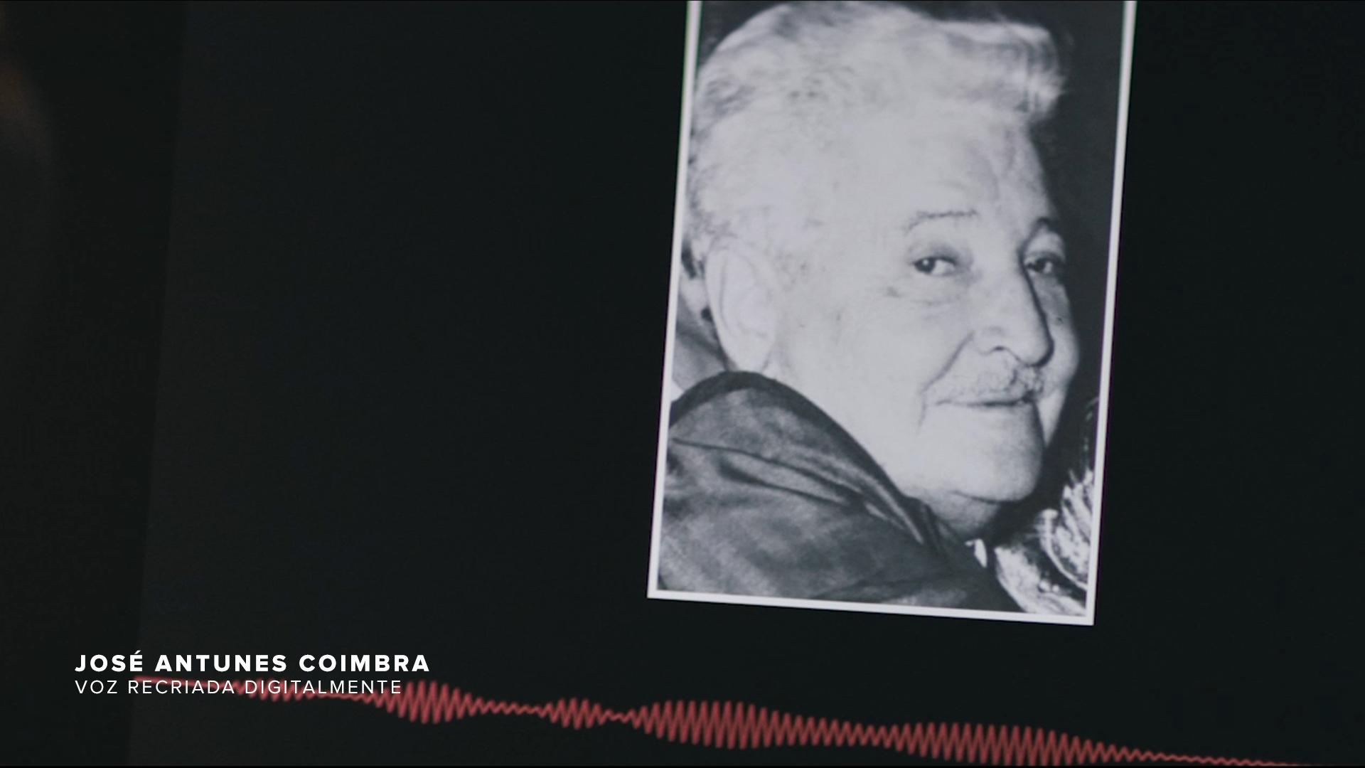 Foto de José Antunes Coimbra, o Seu Antunes, pai de Zico (Divulgação)